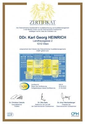 ÖQM®-Zertifikat Qualitätsmanagement in der Arztpraxis