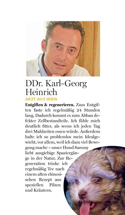 look!: Fittip von DDr. Karl-Georg Heinrich – Entgiften & Regenerieren