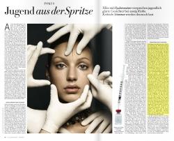 Magazin «Z - Die schönen Seiten»: Jugend aus der Spritze